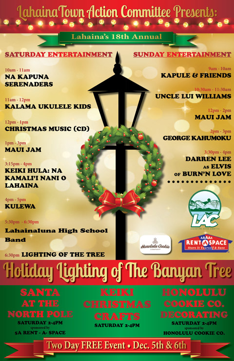 Banyan Tree Lighting