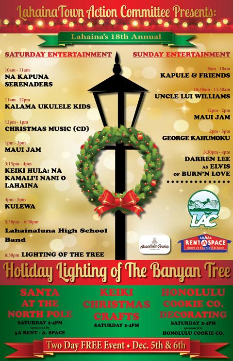 Banyan Tree Lighting