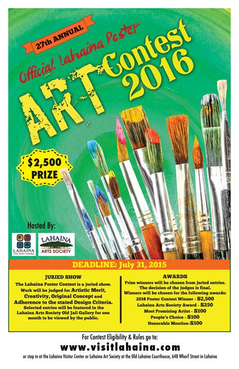 Lahaina Art Contest