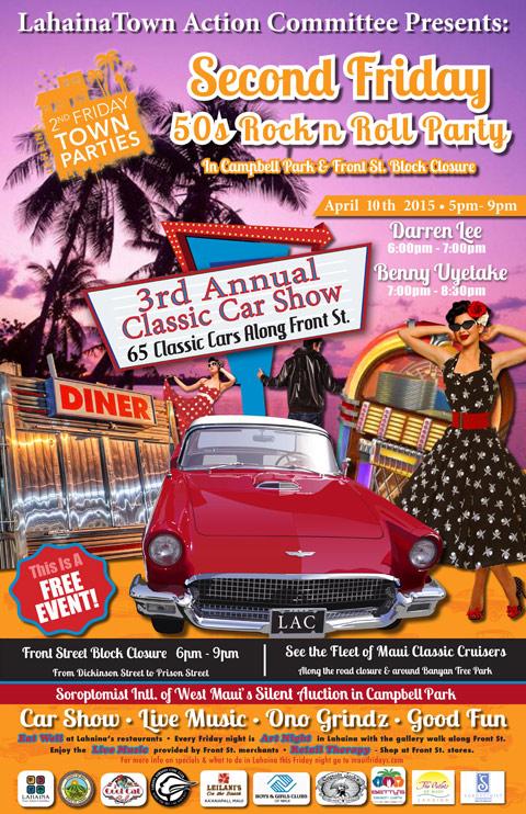 Maui Lahaina Car Show