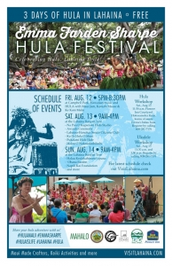 Emma Farden Sharpe Hula Festival