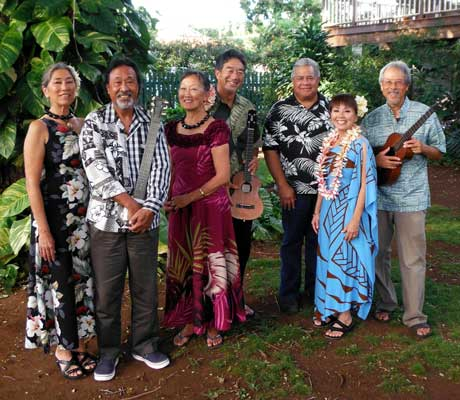 Maui Jam performs at 2nd Friday Town Party