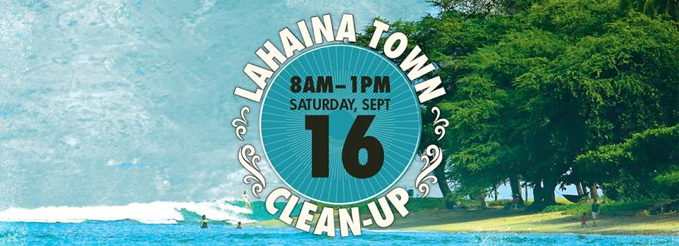 Lahaina Clean Up