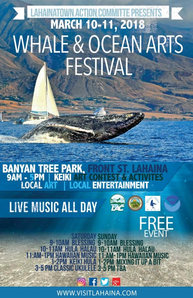 Whale and Ocean Arts Festival @ Banyan Court Park, Lahaina,  HI | Lahaina | Hawaii | United States