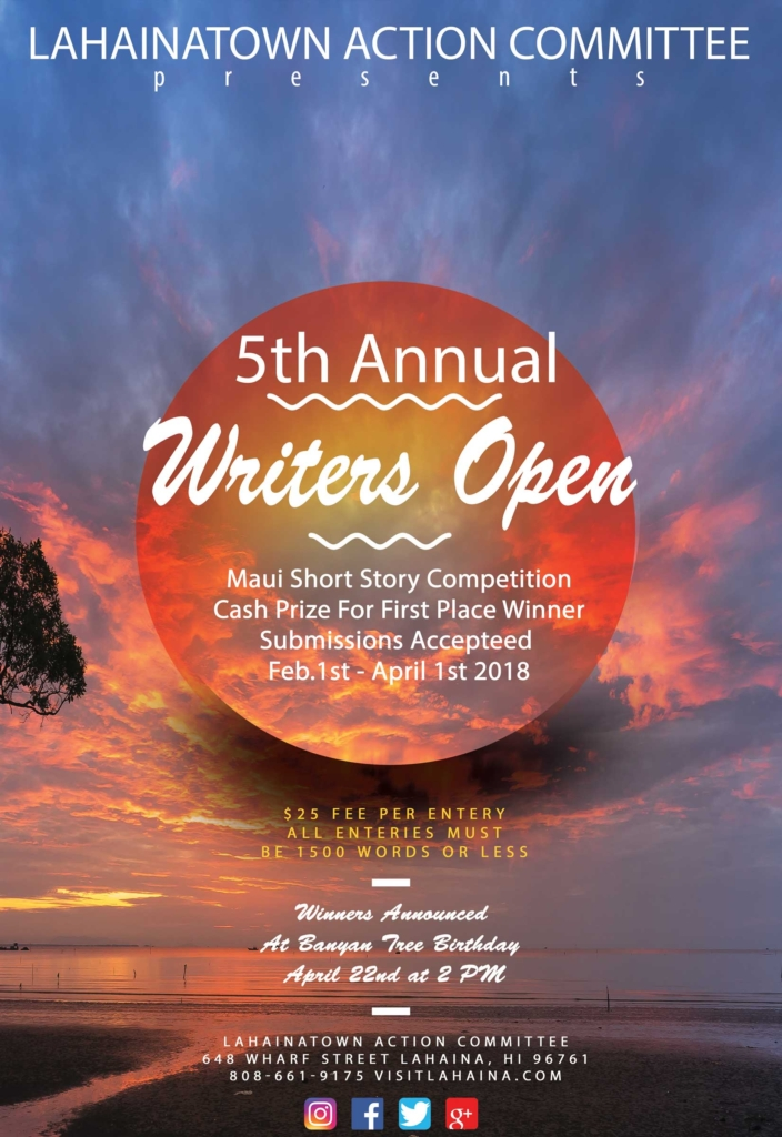 Writers Entries Due