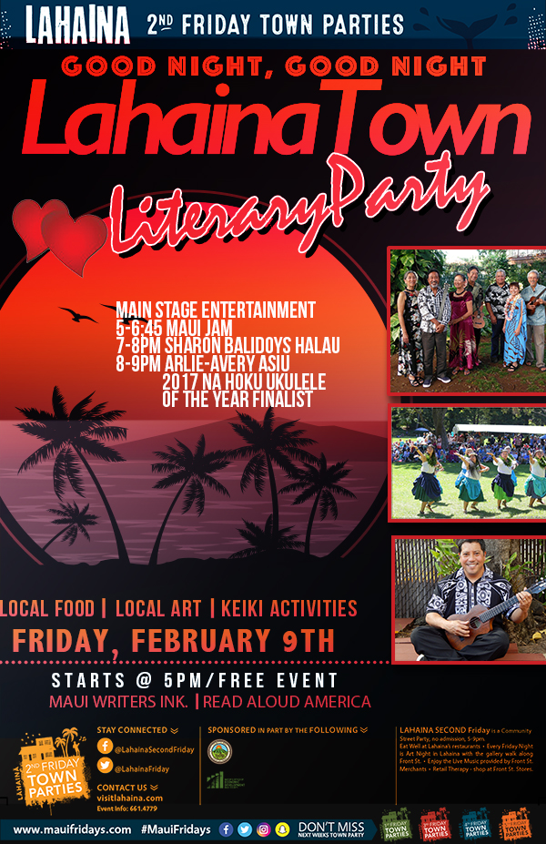 February 2nd Friday on Front Street:  Good Night Lahaina Town @ Campbell Park  | Quesnel | British Columbia | Canada