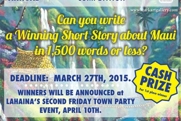 maui short story competition